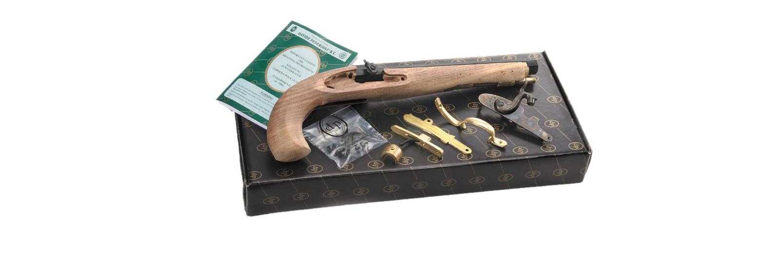 Kit pistola Kentucky a percussione