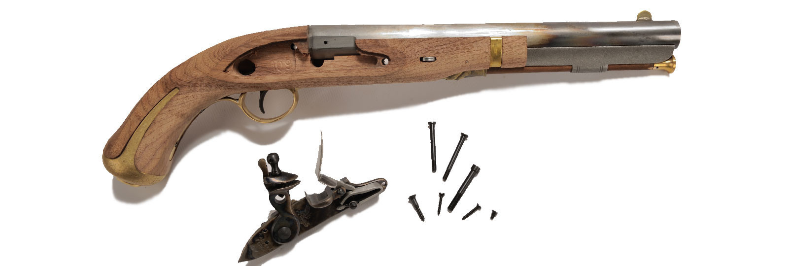 H.ferry pistol kit .58