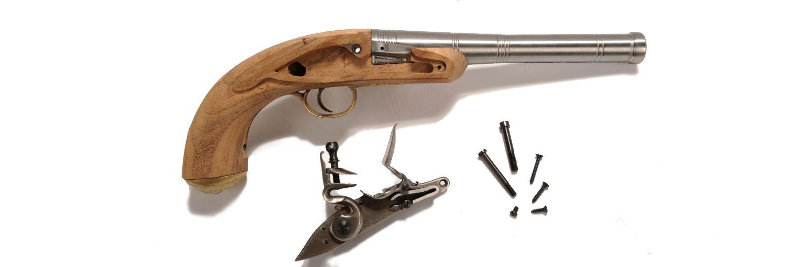 Queen Anne pistol kit
