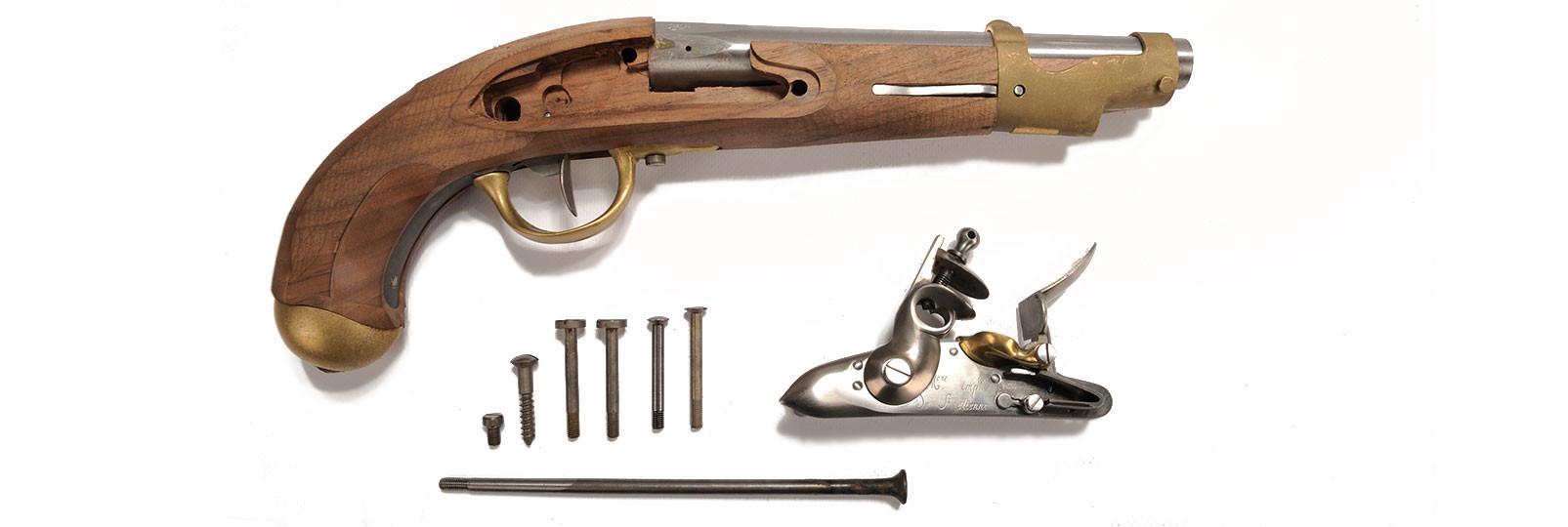 An IX pistol kit
