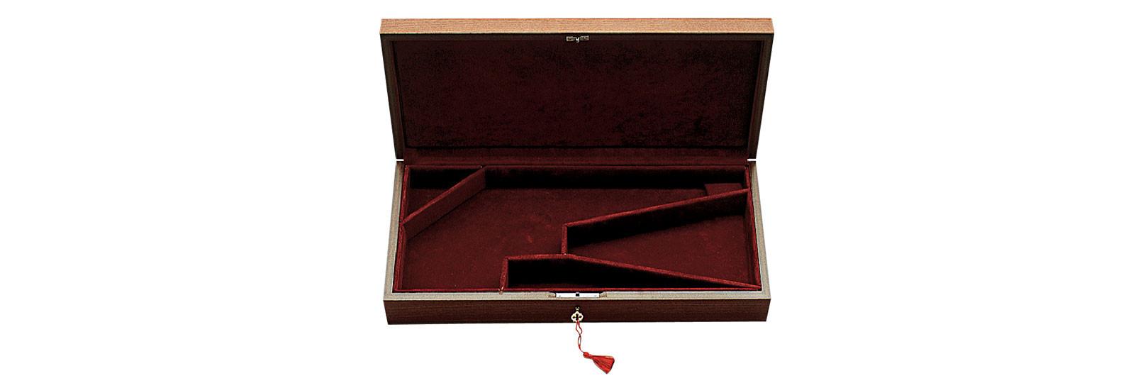 Cofanetto in legno per pistola e accessori