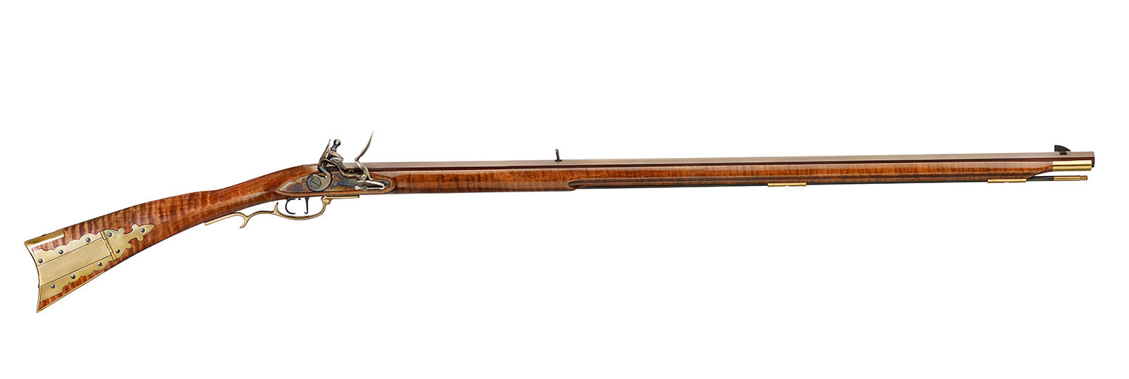 "Frontier ""maple"" DELUXE Rifle flintlock model"