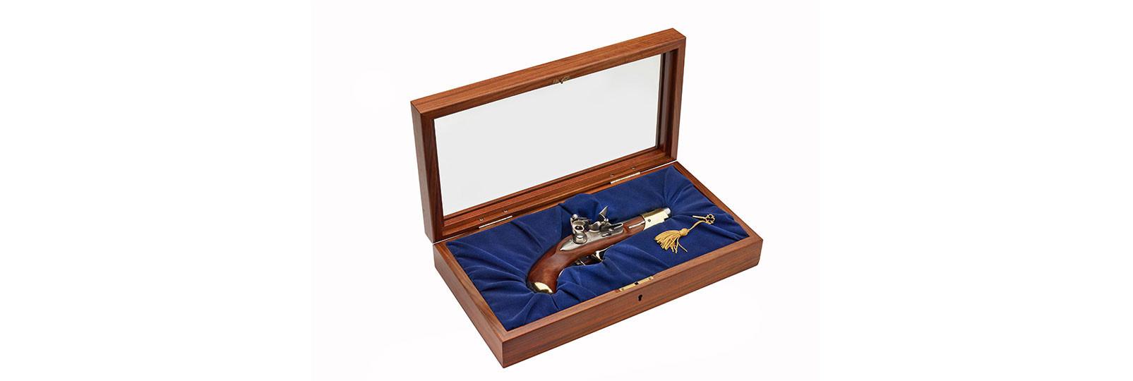 Pistola Mod.1814 Reale dei Carabinieri in cofanetto