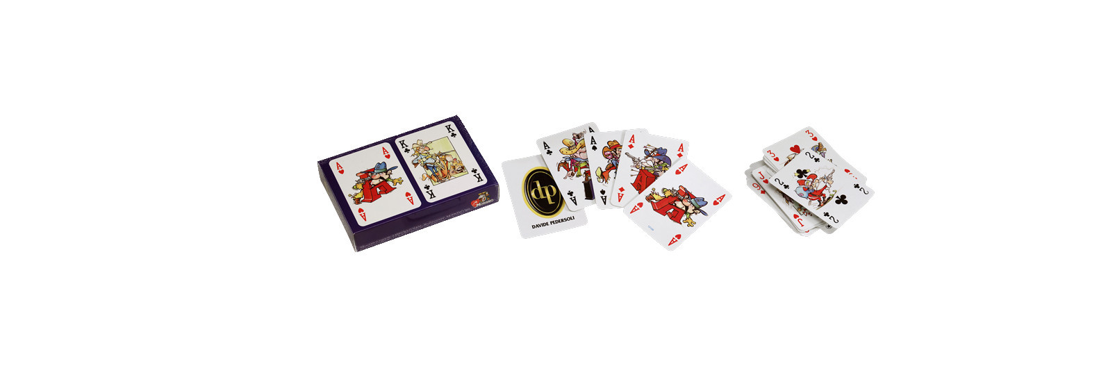 """Pedersoli 50°"" playing cards"
