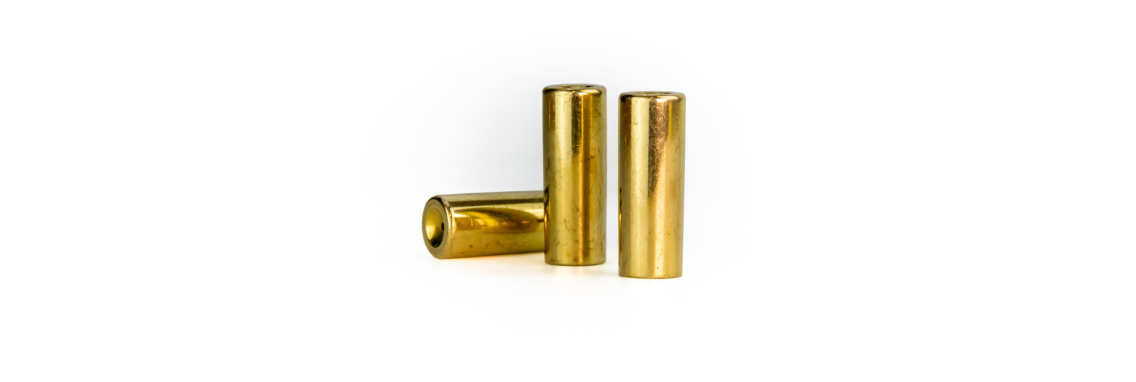 10 original brass cases bag .54