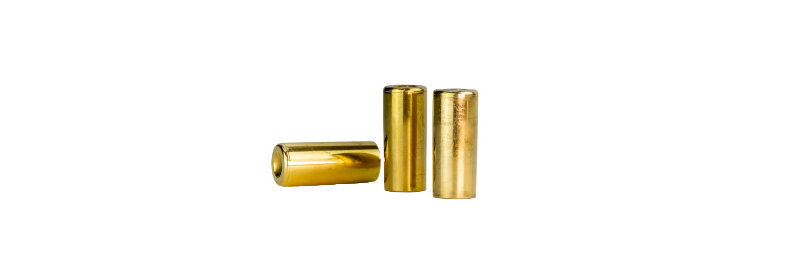 10 modern brass cases bag .54