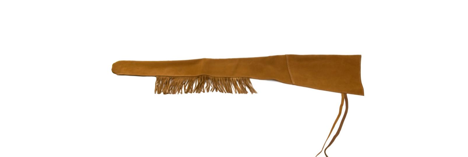 Long leather gun sleeve