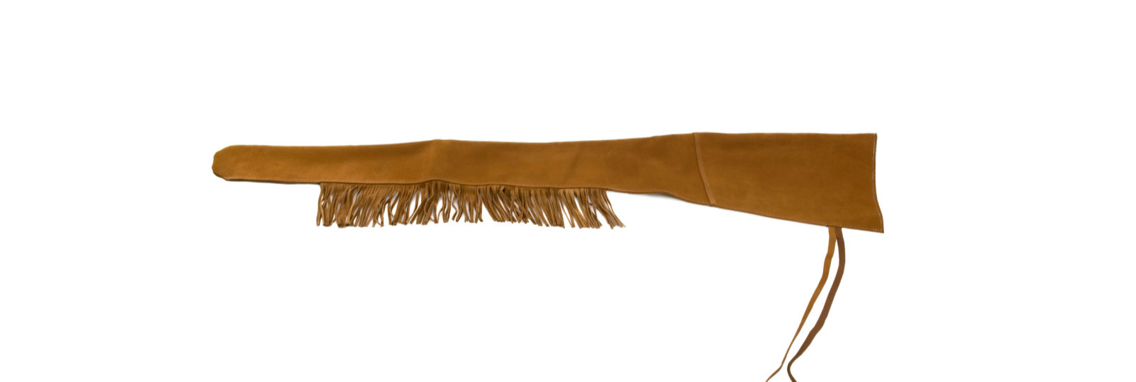 Extralong leather gun sleeve