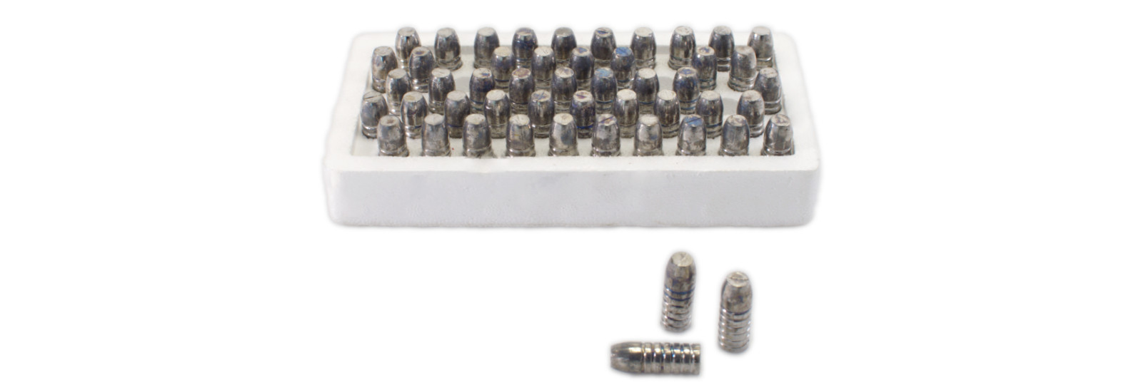 Set 50 conical bullets for muzzleloading