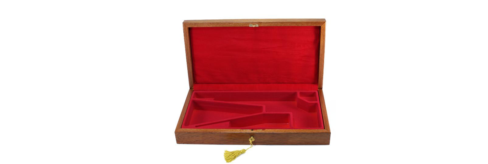 Cofanetto in legno per revolver