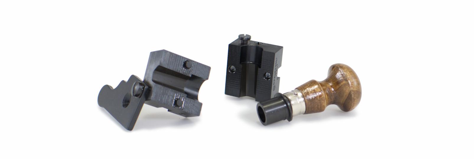 Bullet mould block with 1 cavity - hexagonal bullet
