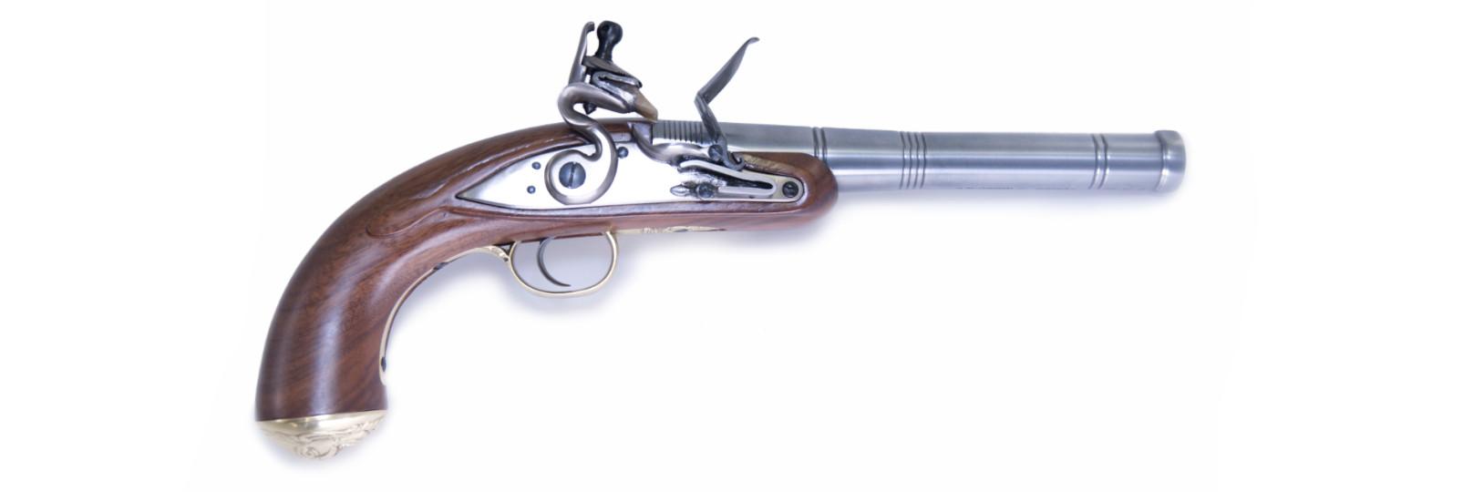 Pistola Queen Anne