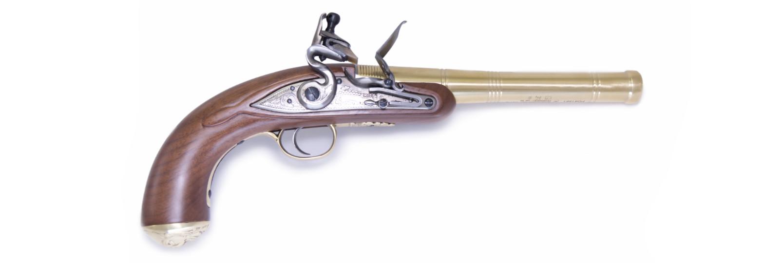"""Pistola Queen Anne """"Brass"""""""