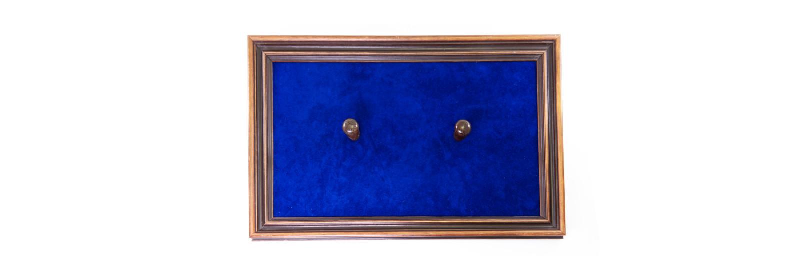Wooden display panel