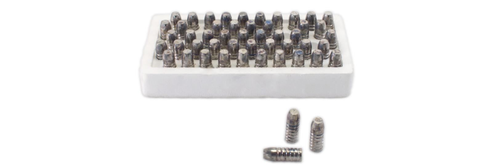 Set 50 palle coniche per retrocarica .458/535 grs.