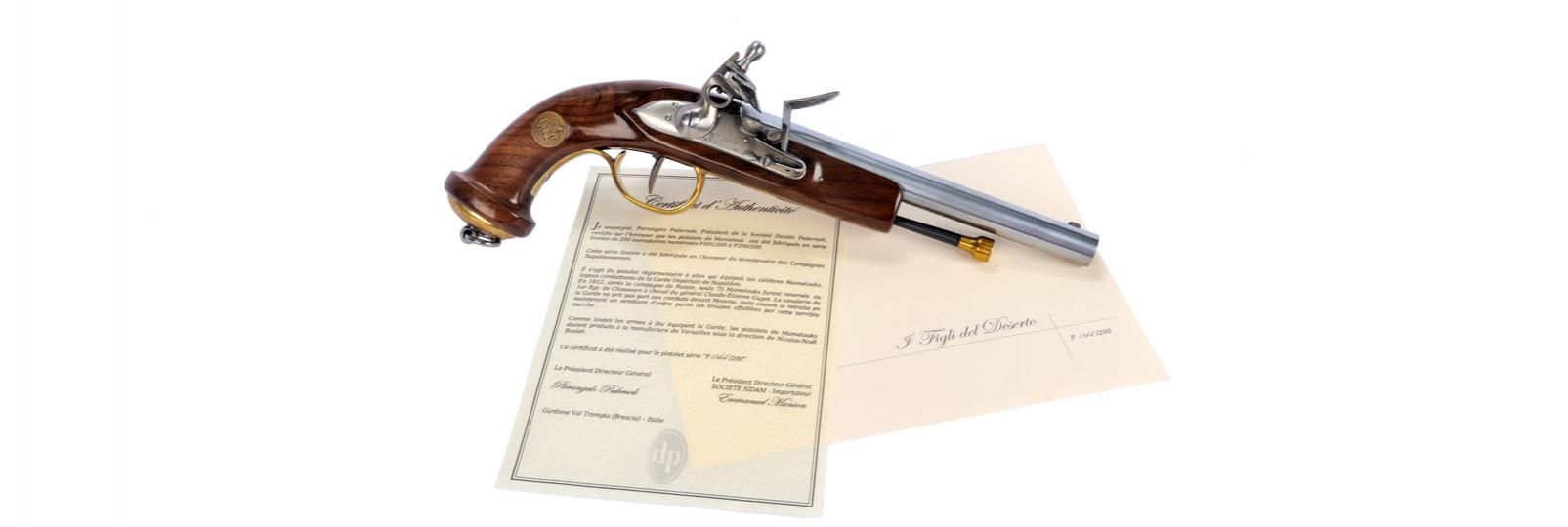 Pistola Mamelouk commemorativa