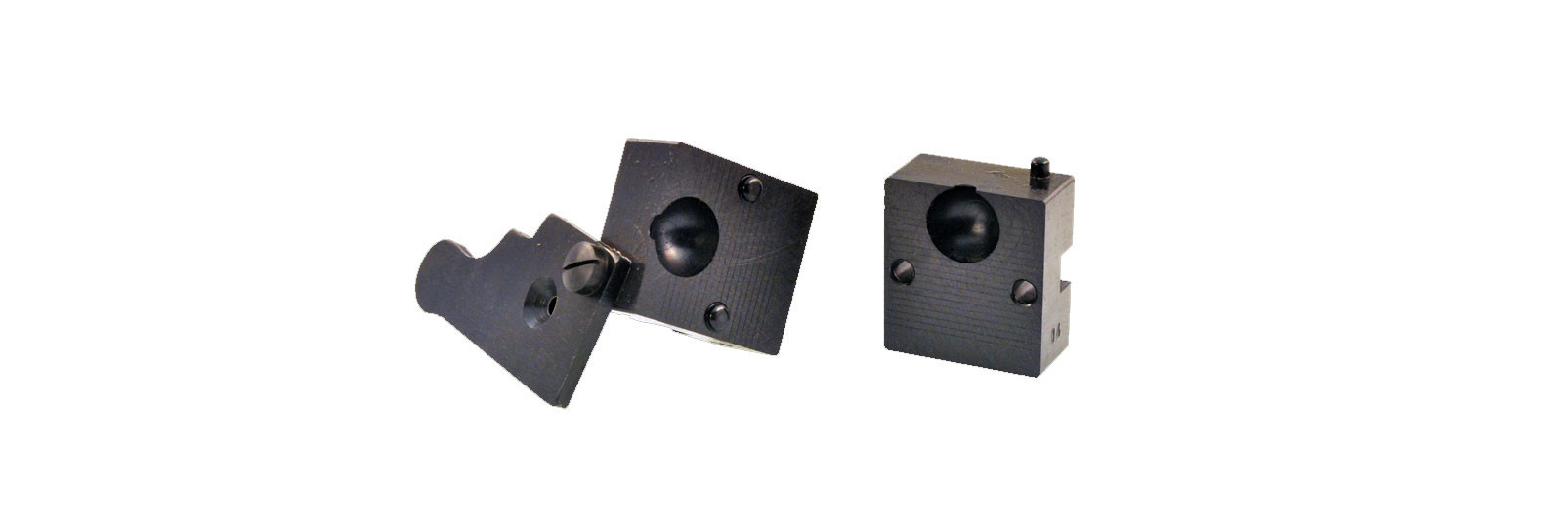 Bullet mould block with 1 cavity - round ball