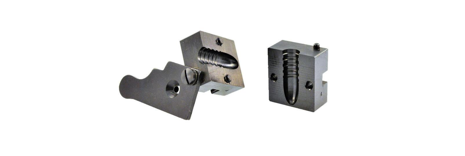Steel block .458 conical