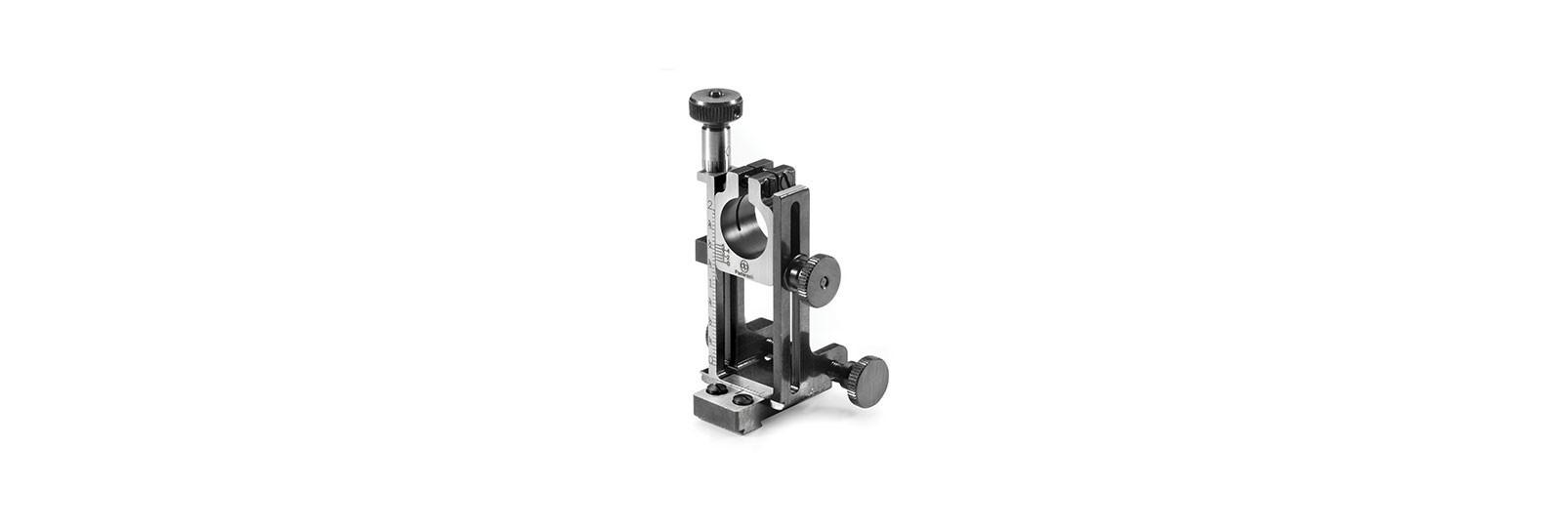 Adjustable base for malcom scope