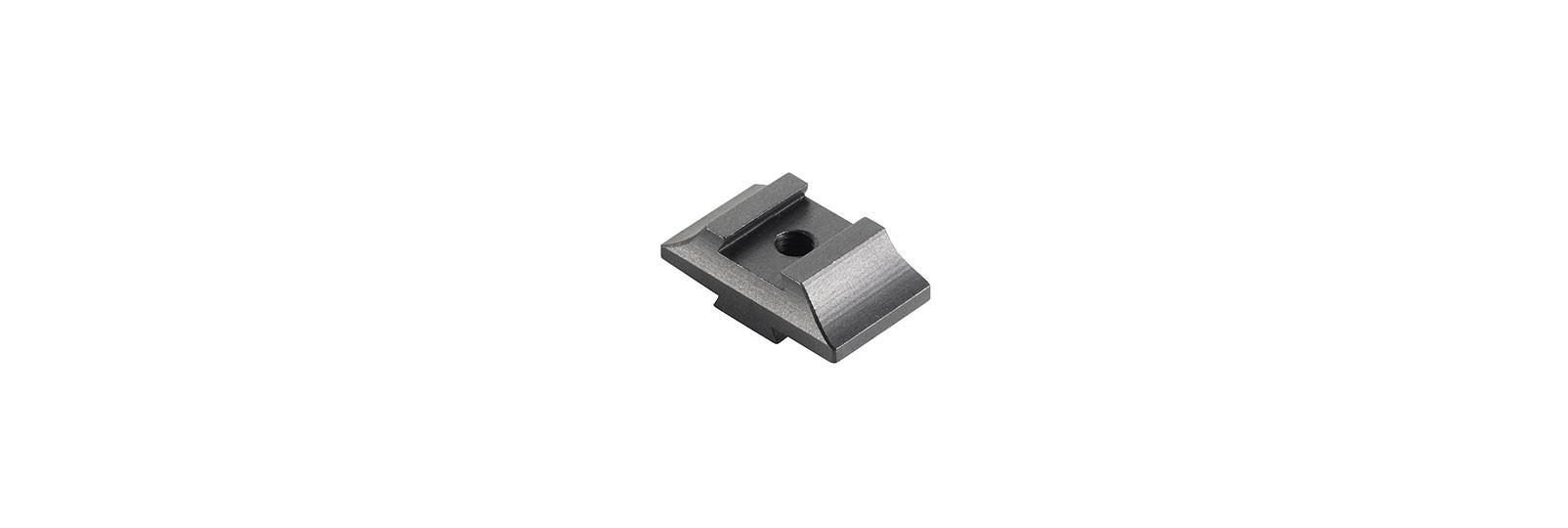 Tunnel front sight base support