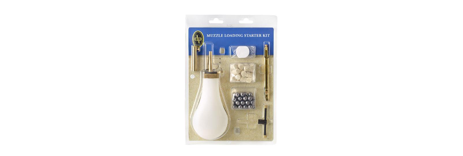 Muzzle loading starter kit percussion standard