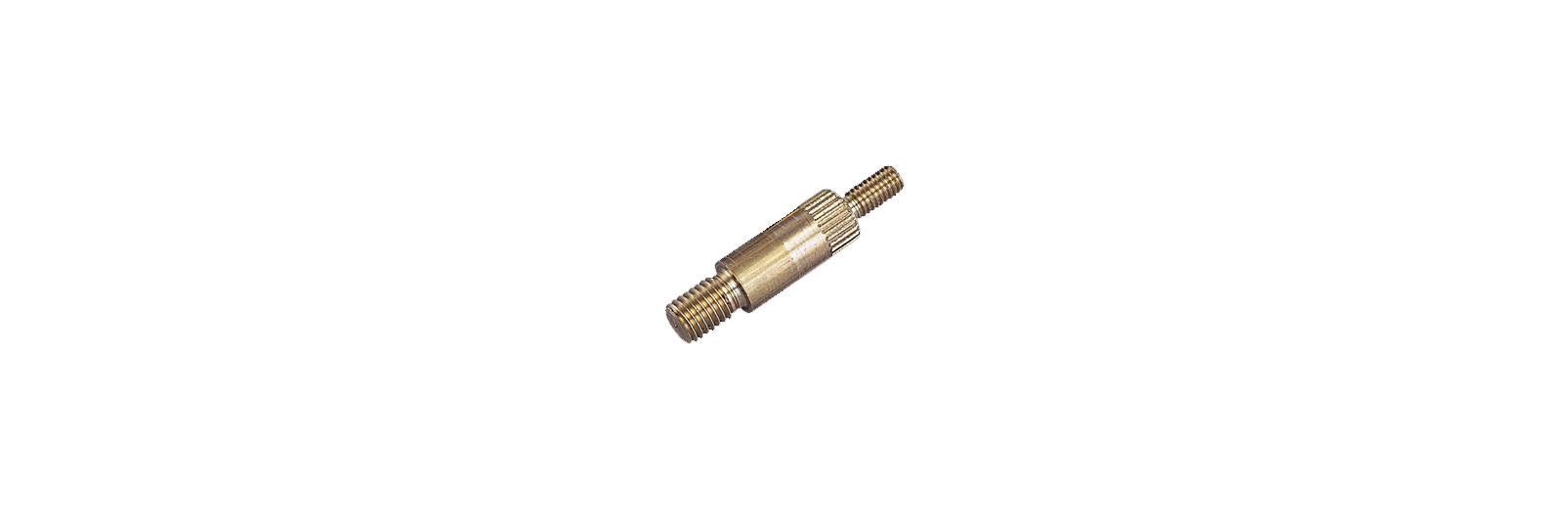 Brass reduction male/male thread 7MA/10-32