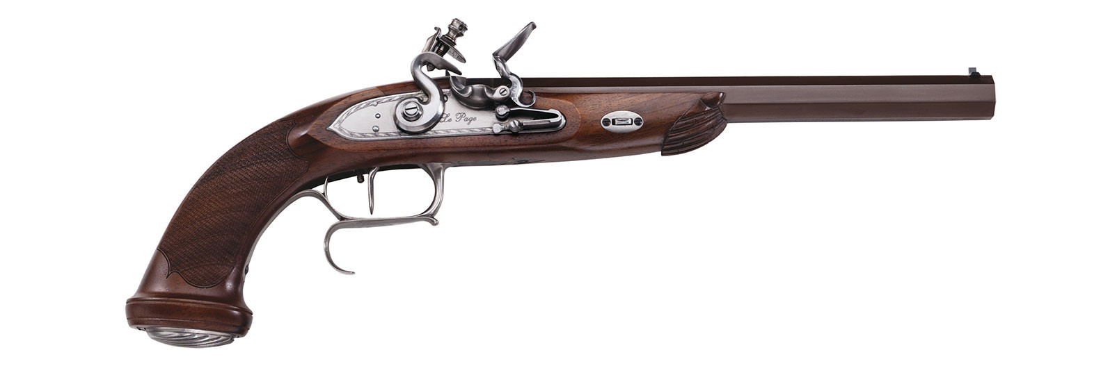 """Le Page """"Target"""" Pistol flintlock model"""