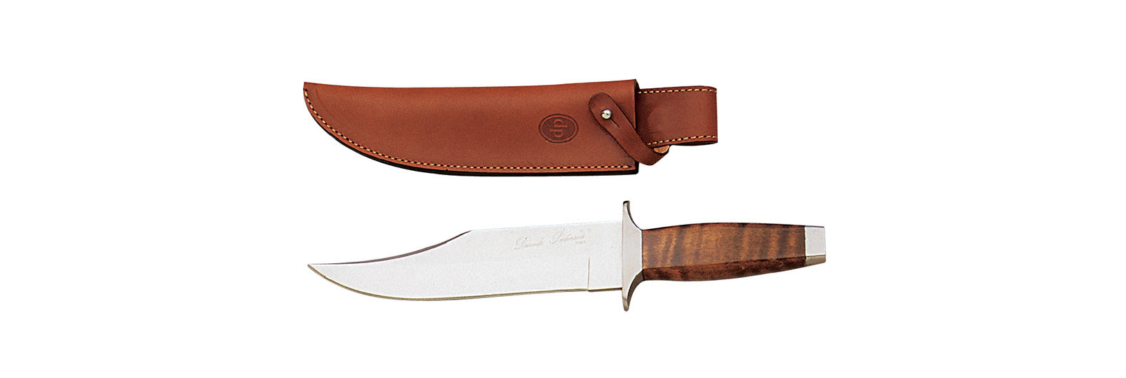 Bowie maple Knife with sheath