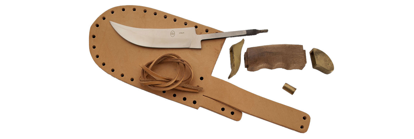 Skinner Knife kit with sheath