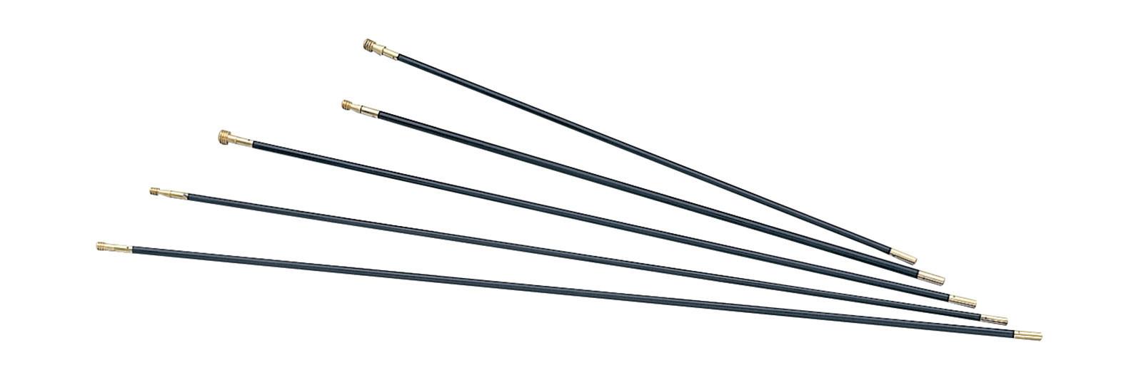 Muzzleloading Fiberglass ramrods 9x750 mm