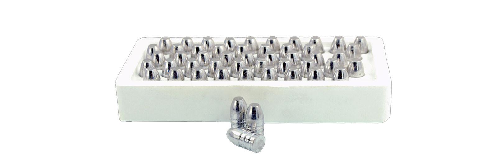 50 conical lead balls.500/450 grs