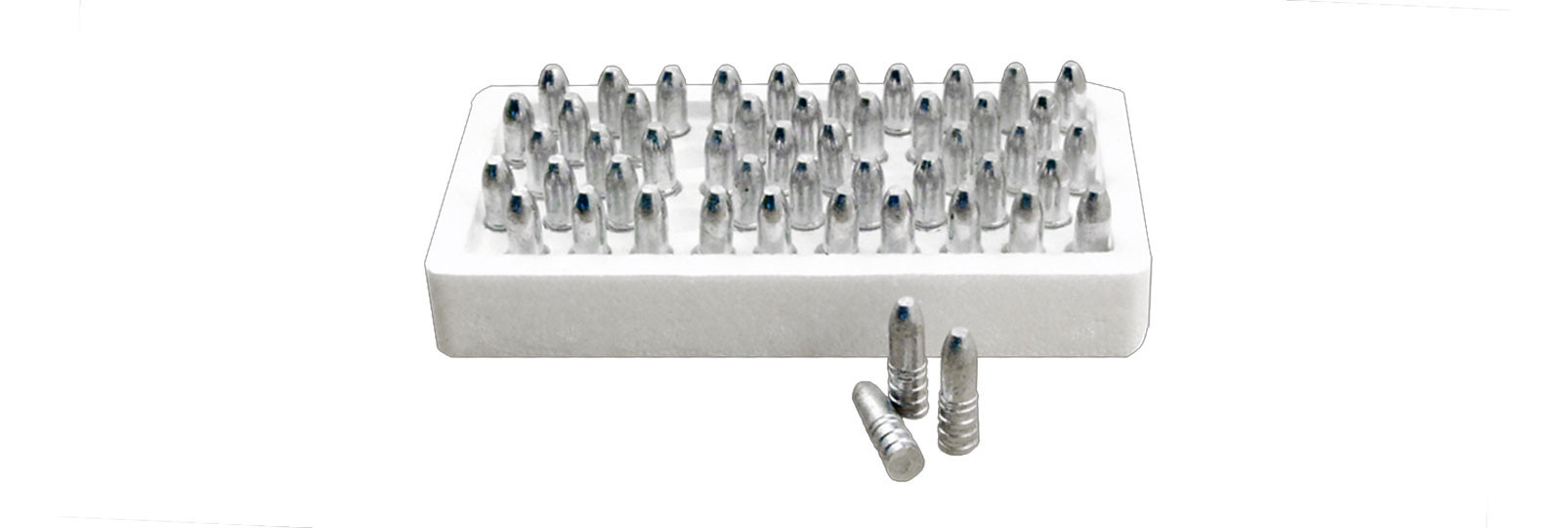 Set 50 conical bullets for breech loading