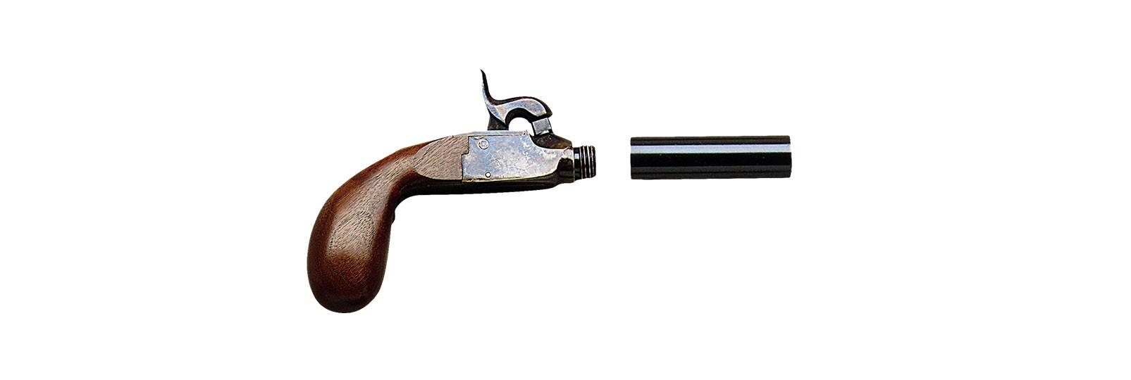 Derringer liegi pistol .44