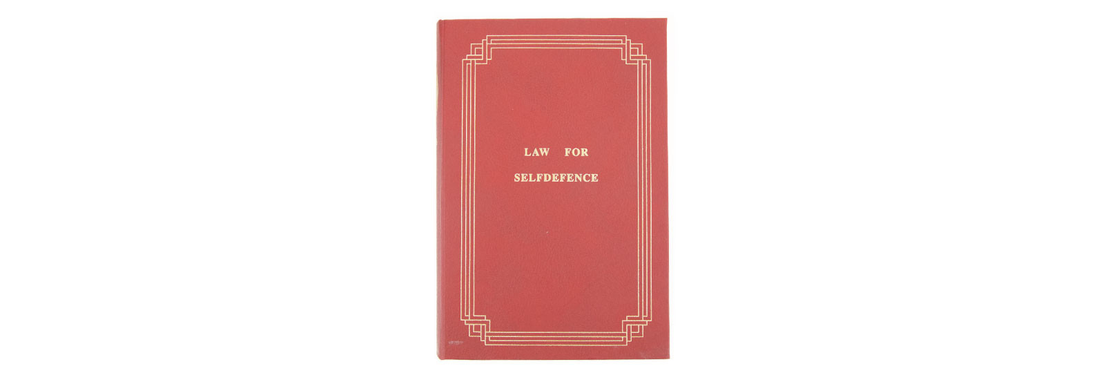 Derringer book case