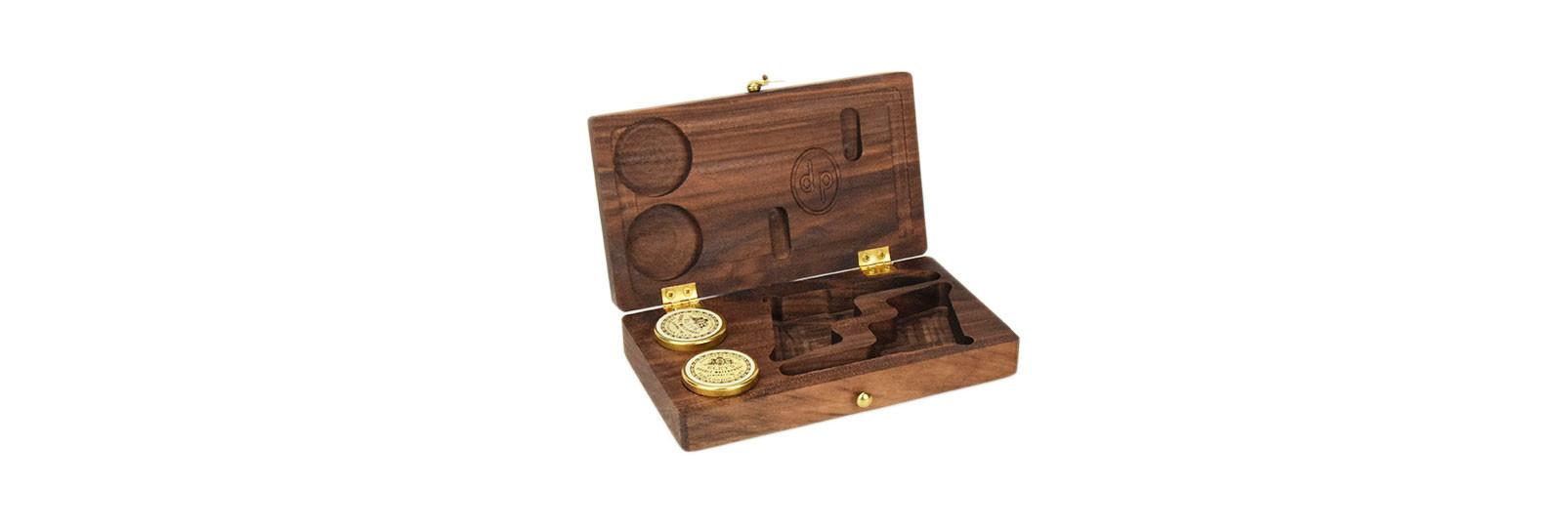 Wood case for 2 Derringer Rider pistols