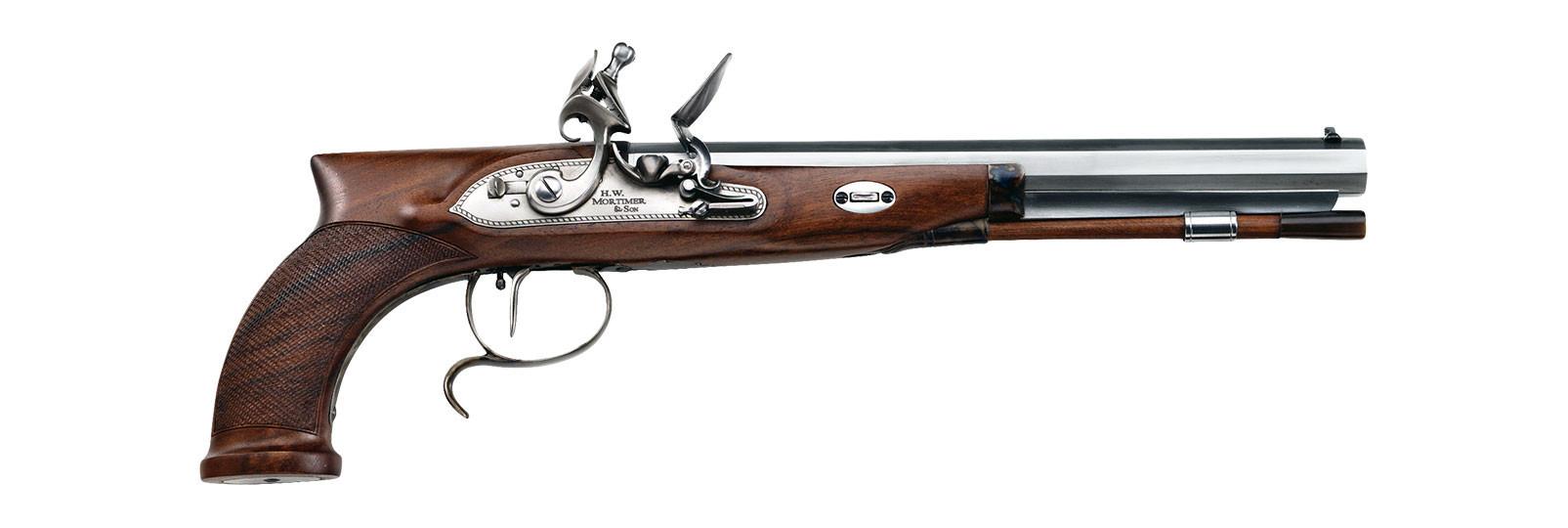 Mortimer Pistol flintlock model
