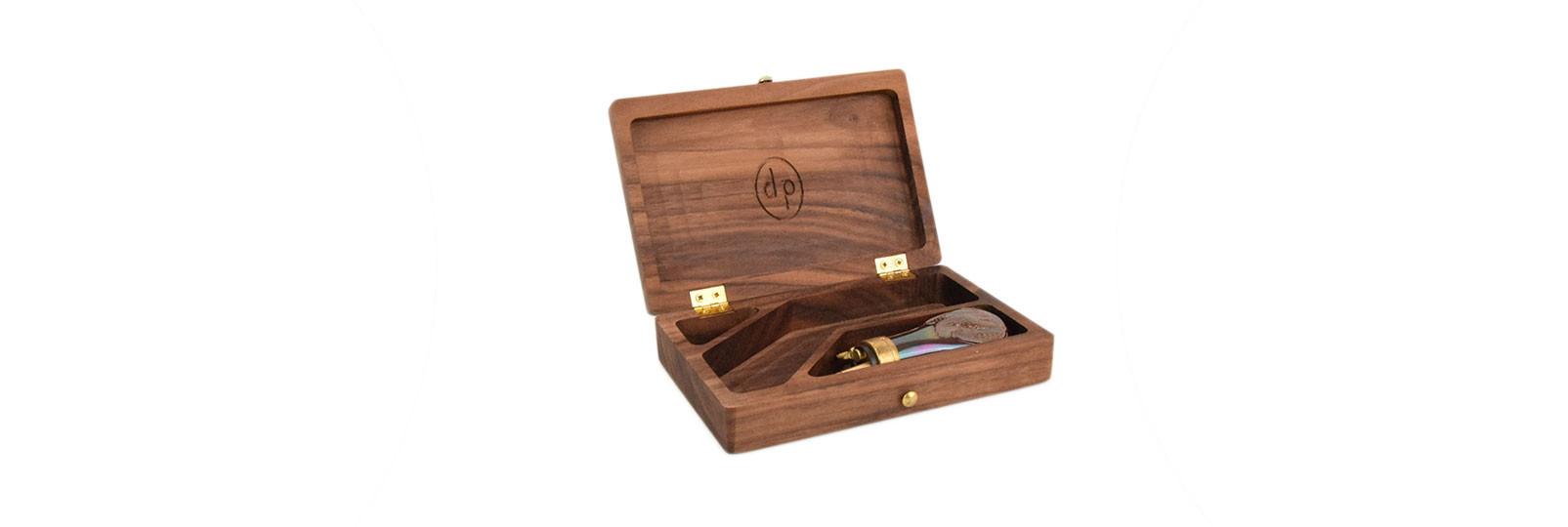 Derringer liegi wood case