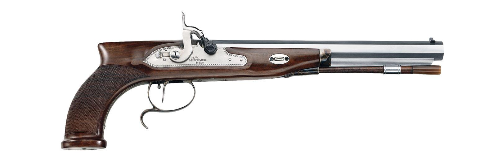 Mortimer percussion pistol .44