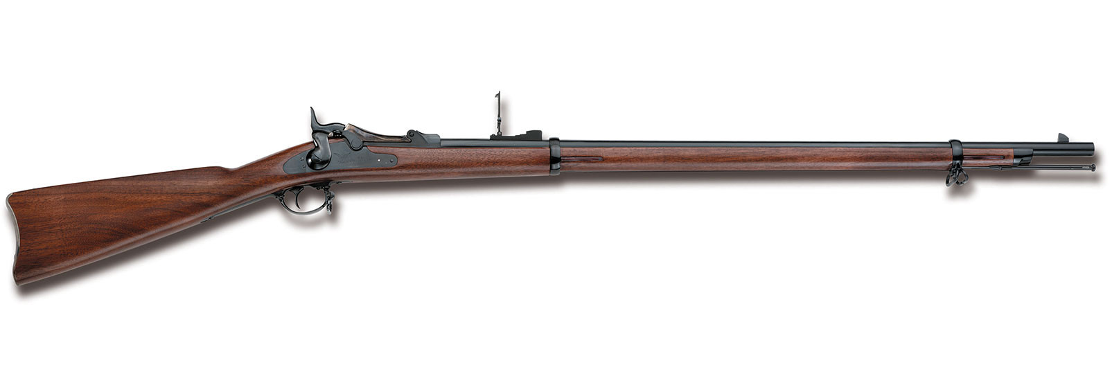 S.trapdoor rifle .45-70
