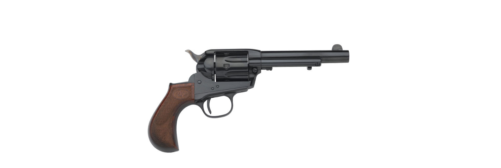 "Doc holliday revolver .38sp 4,2"" blued"