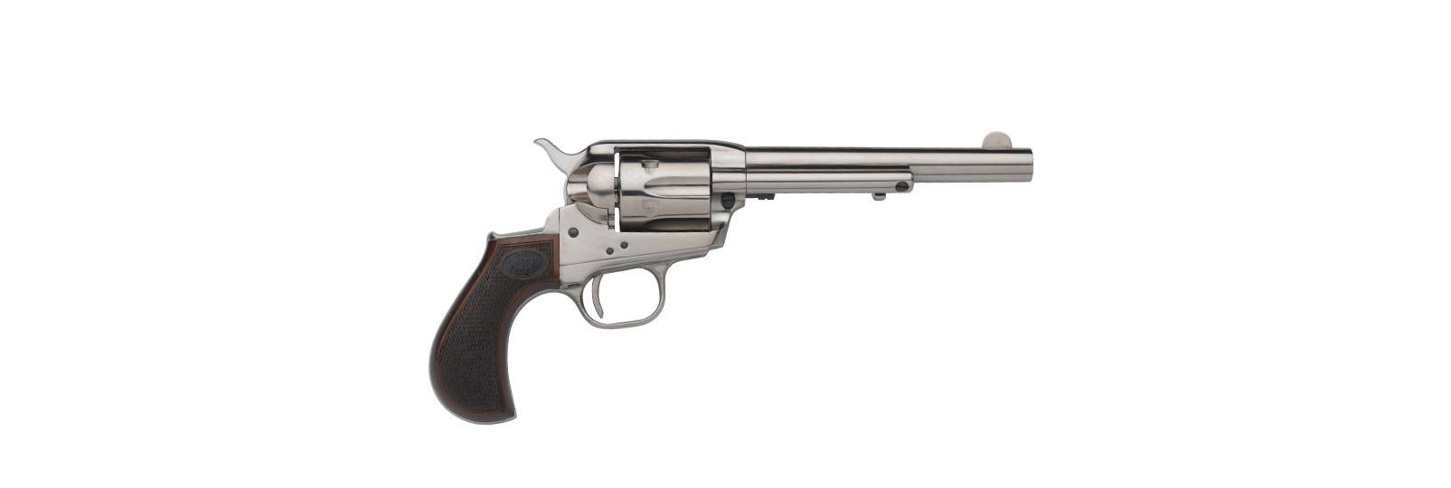 """Doc holliday revolver .38sp 5"""" nickel"""
