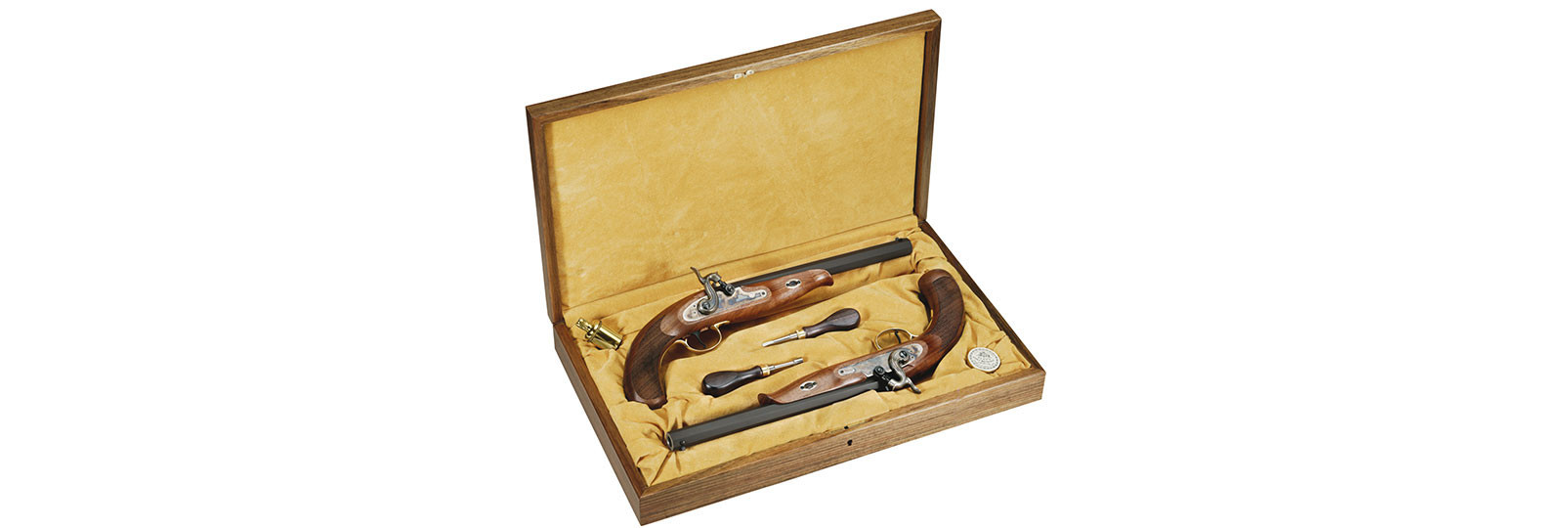Set 2 pistole Continental Duelling a percussione