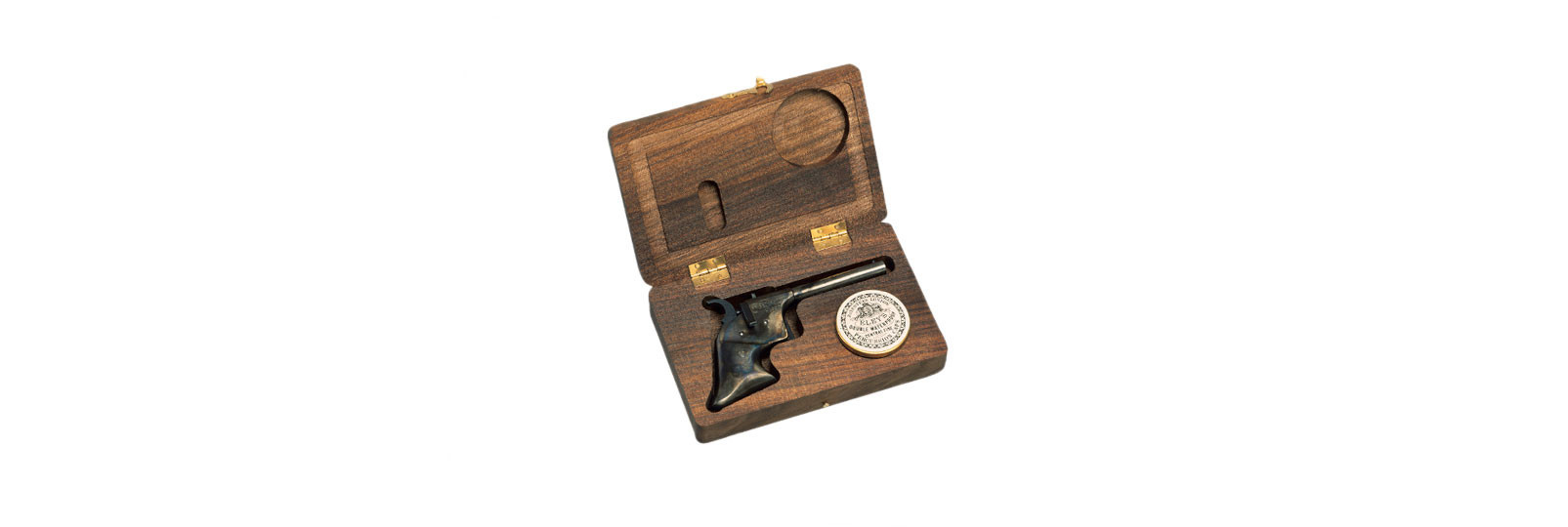 Derringer Rider hardened Pistol with case