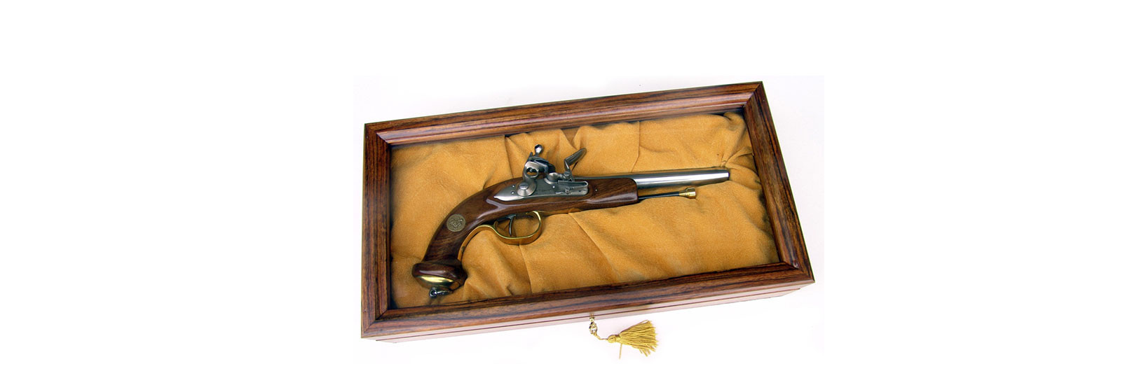 Pistola Mamelouk commemorativa in cofanetto
