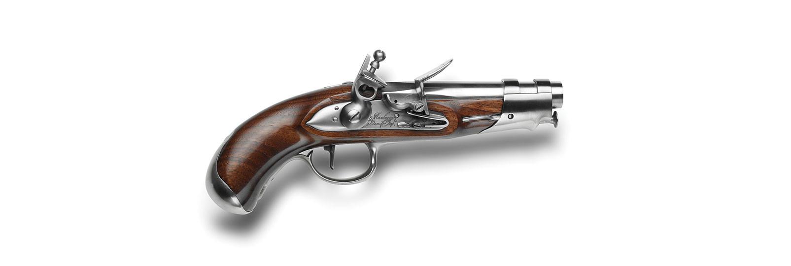 An IX De Gendarmerie Pistol