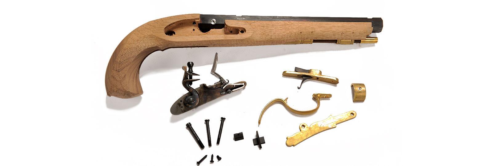 Kit kentucky pistol flintlock .54